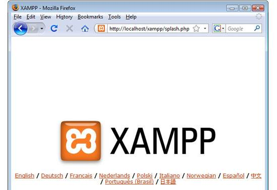 xampp apache friends